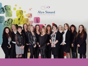 Alyn Simard est fier de vous présenter son équipe composée de professionnelles compétentes et dévouées.