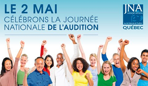 JNA Journée Nationale de l'Audition du Québec