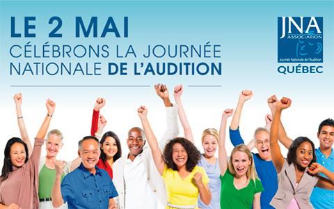 JNA Journée Nationale de l'Audition du Québec